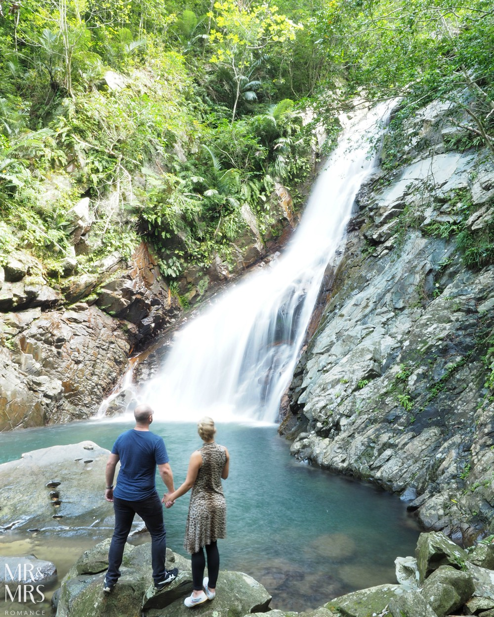 Power Spots, Okinawa, Japan - Mr & Mrs Romance - Hiji Waterfall MMR