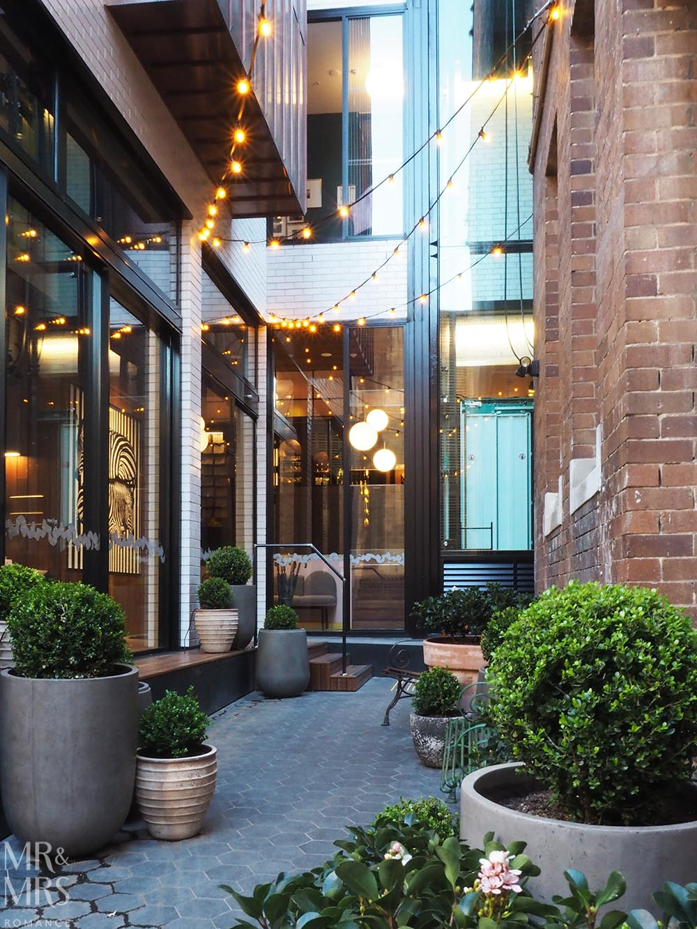 Little Albion Guest House Review - Surry Hills boutique hotel interior