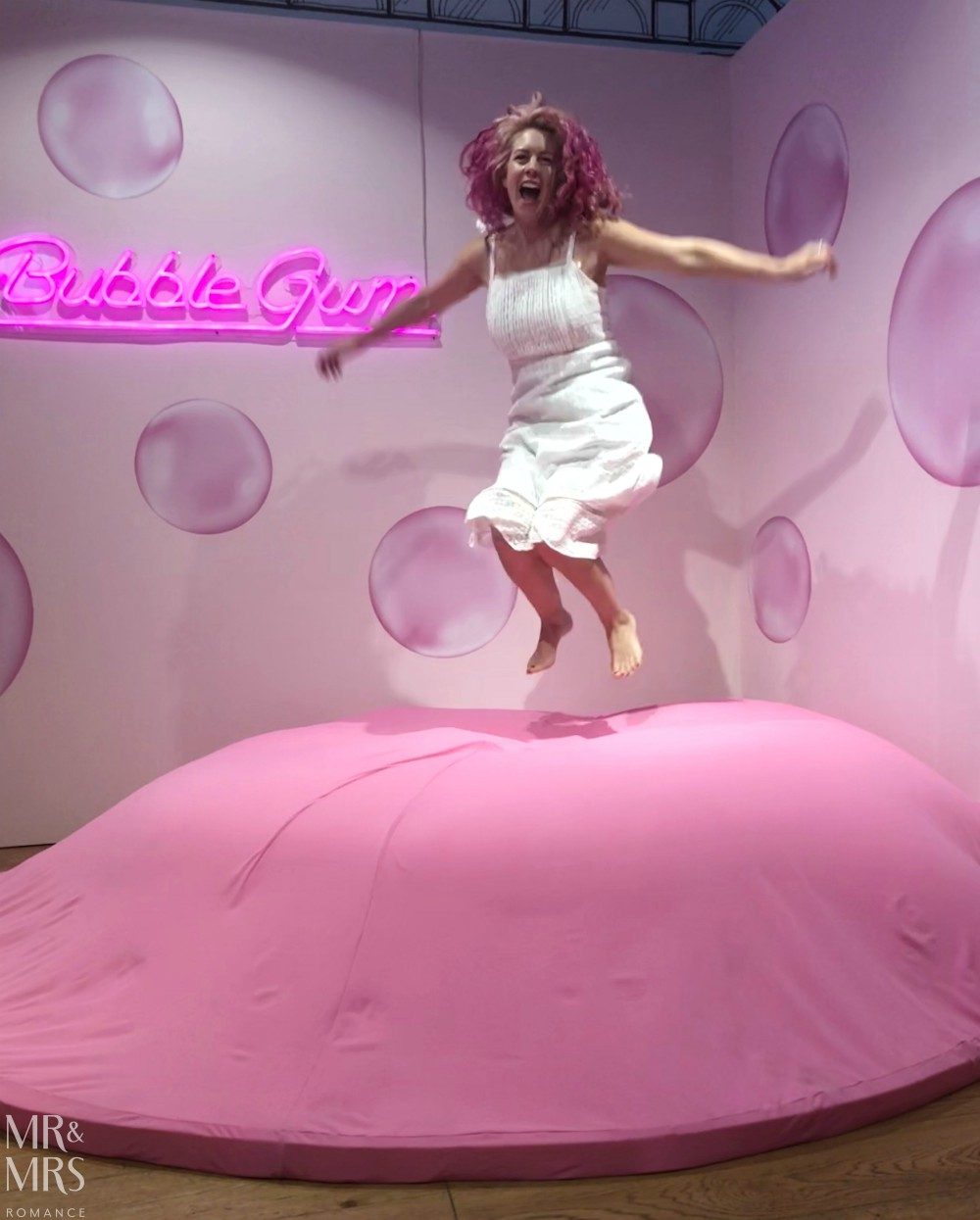 Sugar Republic, Myer Sydney - Christina bubble gum bounce