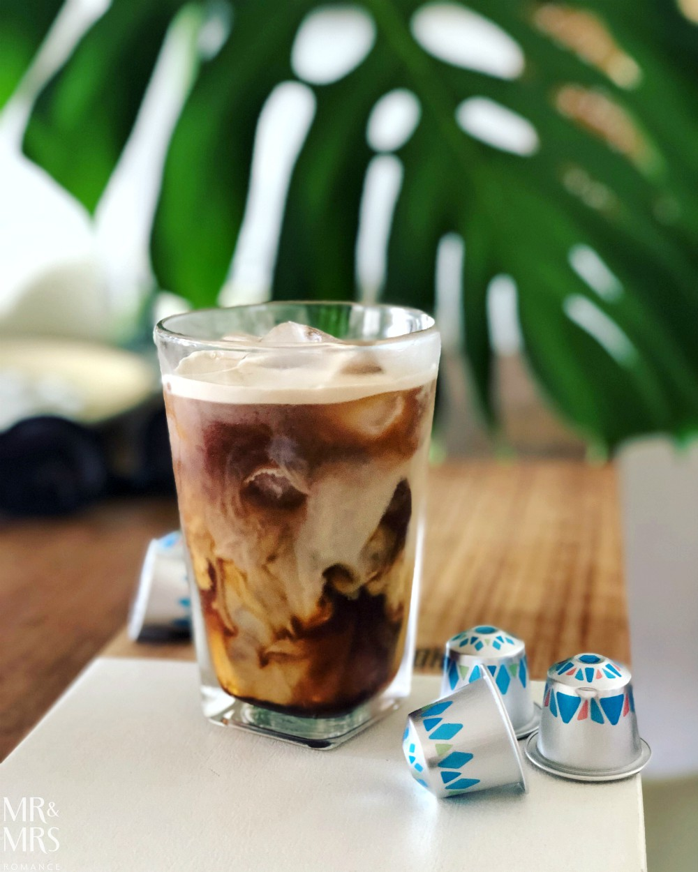 Nespresso Over Ice iced coffee