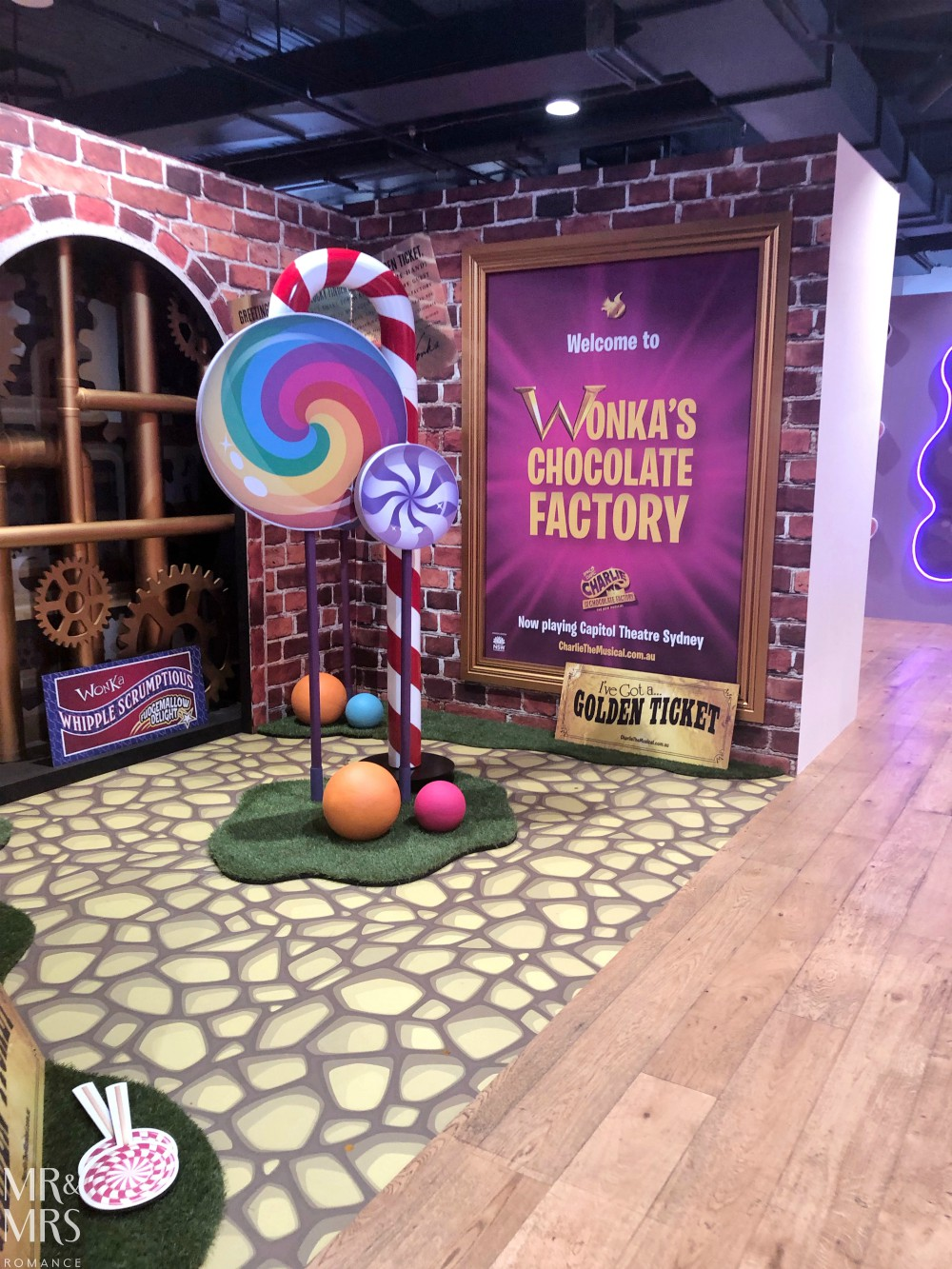 Sugar Republic, Myer Sydney - Wonka room