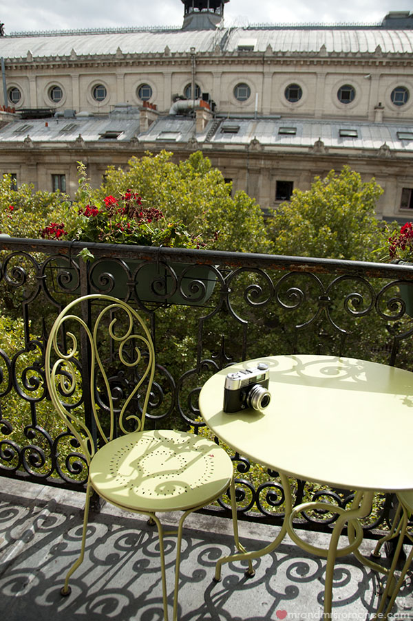 Paris - balcony