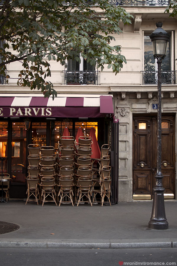 Paris - cafe