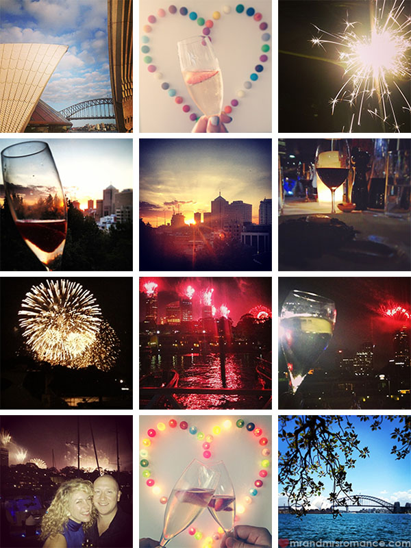 Happy New Year in Sydney