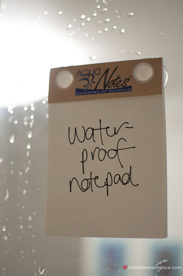 Water-proof notepad