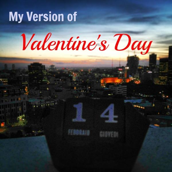 Valentine's Day love romance sunset date