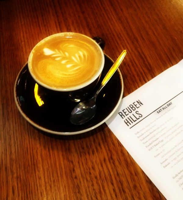 Reuben Hills coffee food cafe breakfast