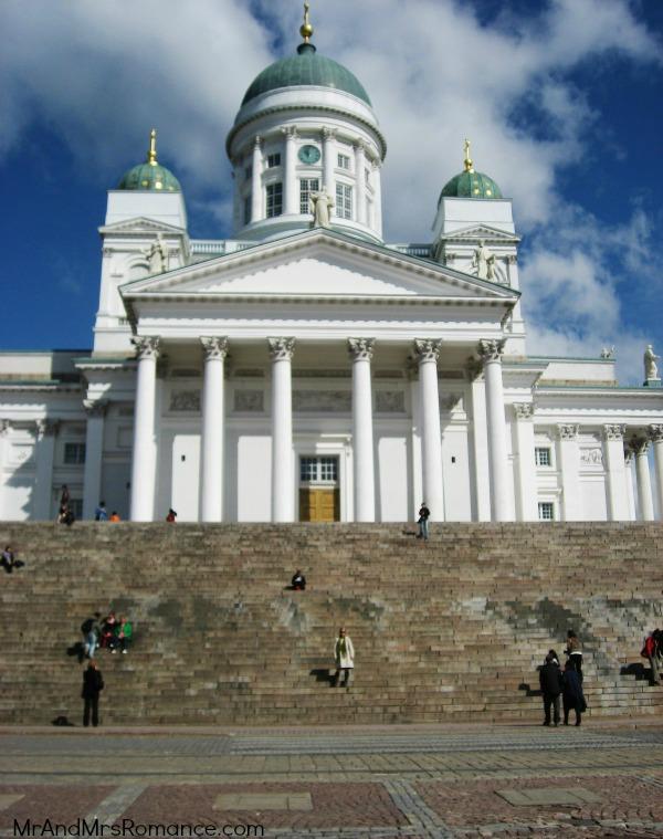 Mr & Mrs Romance - Helsinki Cathedral