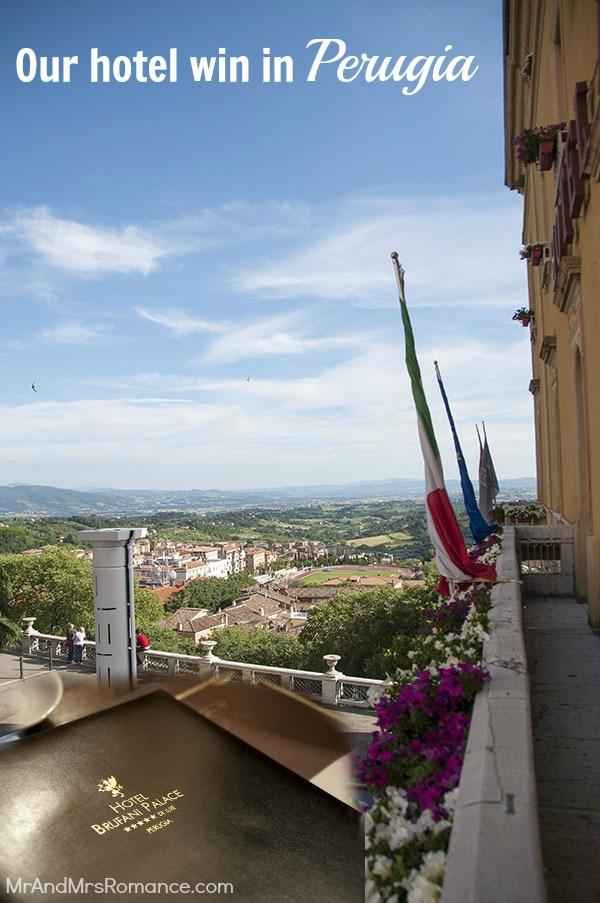 Perugia hotel italy Brufani