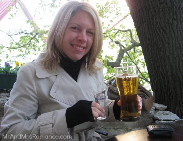 Mr & Mrs Romance - Tallinn Old Town - Beer and vodka