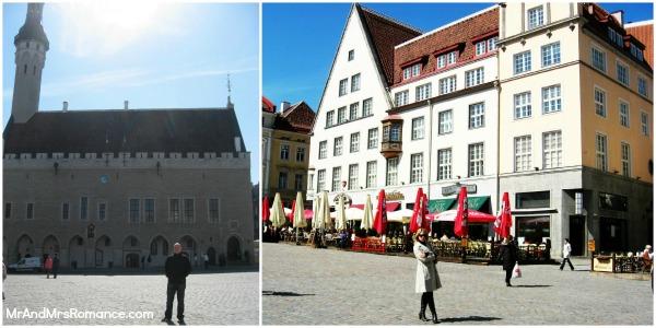Mr & Mrs Romance - Tallinn Old Town - Town Square collage