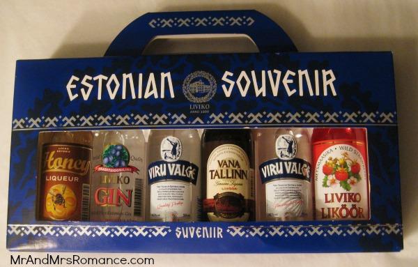 Mr & Mrs Romance - Tallinn Old Town - vodka souvenirs