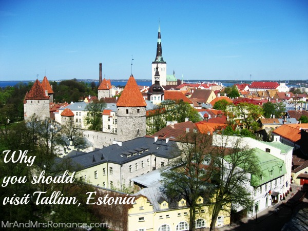 Mr & Mrs Romance - Why you should visit Tallinn Old Town, Estonia