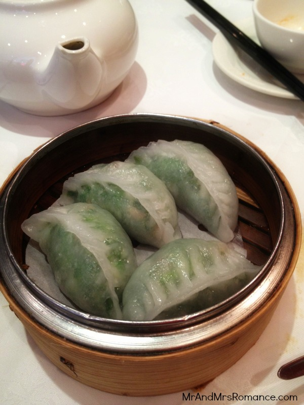 Chinese food dumplings yum cha garlic spinach prawn dumpling gow gee