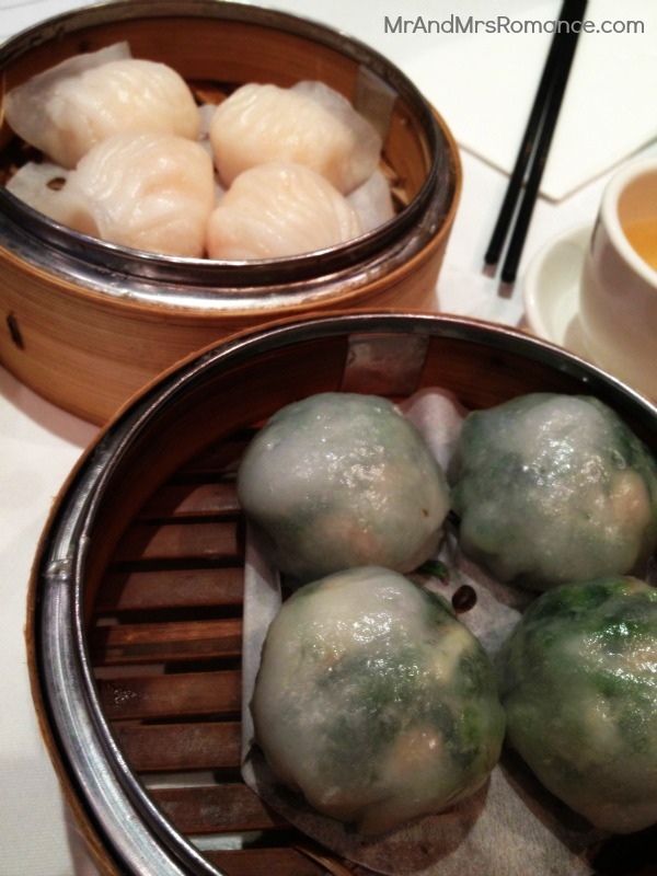Chinese food dumplings yum cha prawn spinach garlic dumplings