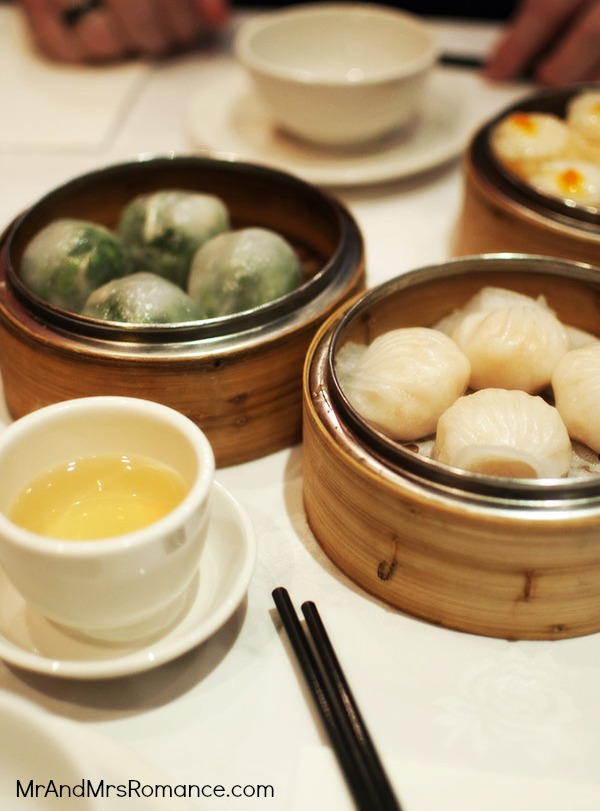 Chinese food dumplings yum cha tea