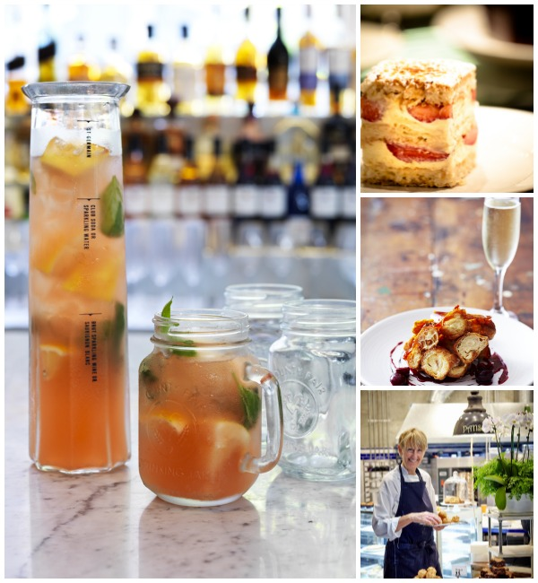 Palings restaurant - drinks and desserts