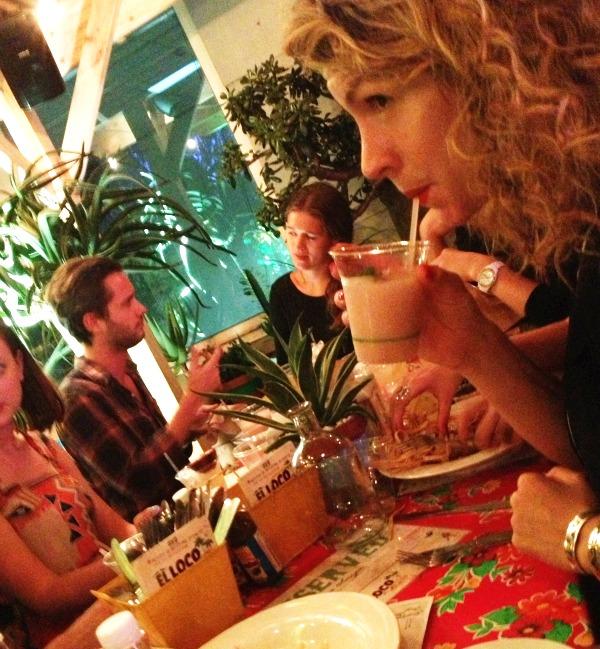 Mexican food sydney el loco merivale mr and mrs romance margarita batida