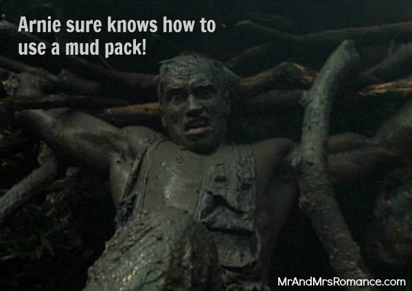 Mr & Mrs Romance - Features - Arnie's mud pack