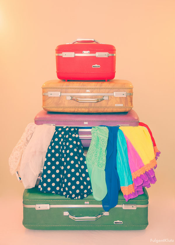 he says - she says - suitcase packing woes