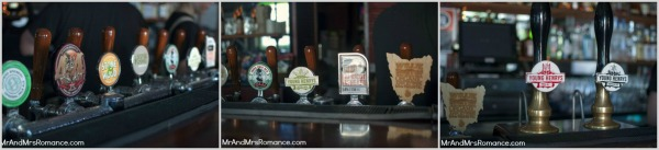 Mr and Mrs Romance - Friday Drinks - Royal Albert beer collage