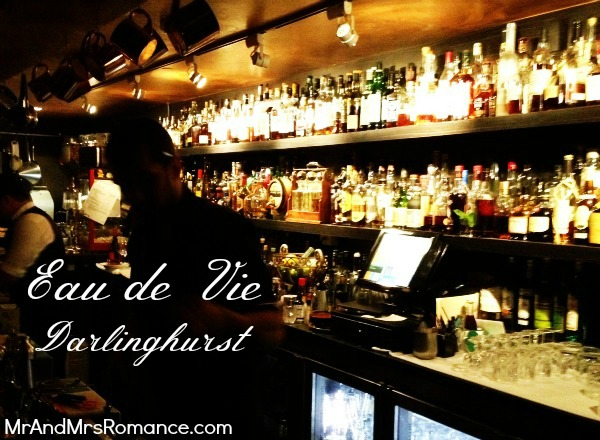 Mr and Mrs Romance - Friday drinks - Eau de Vie Title