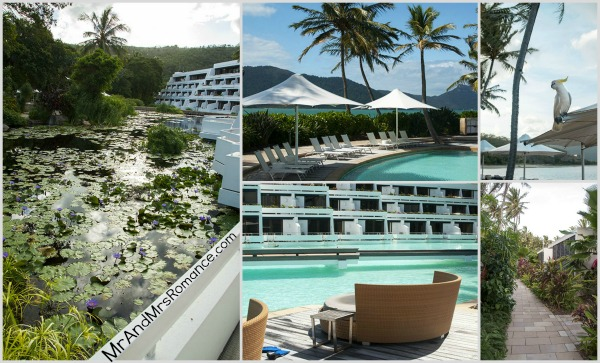 Mr and Mrs Romance - Hayman Island Whitsundays Collage 1
