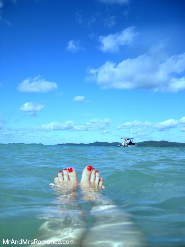 Mr and Mrs Romance - Monday Travel - Whitsundays 2