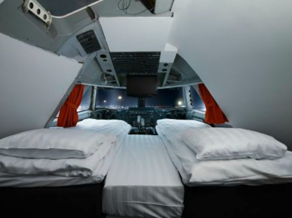 Mr and Mrs Romance - Travel - Monday teaser cockpit bedroom