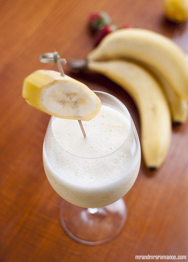 Mr and Mrs Romance - Day 8 - Banana Daquiri Cocktail Recipe