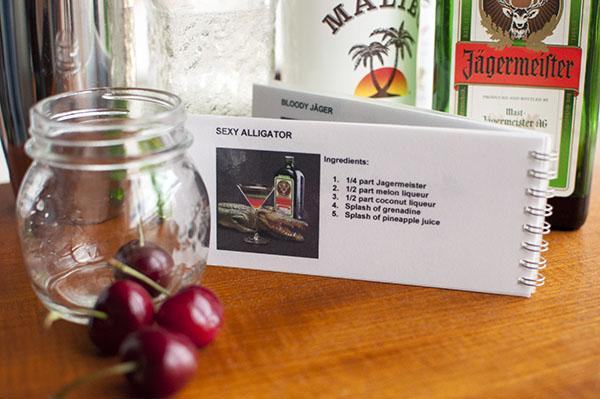 Sexy Alligator - Jaeger cocktail book