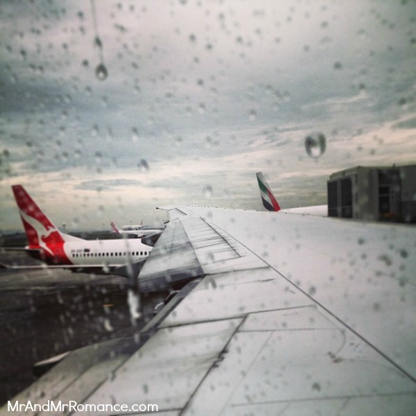 Goodbye rainy Sydney