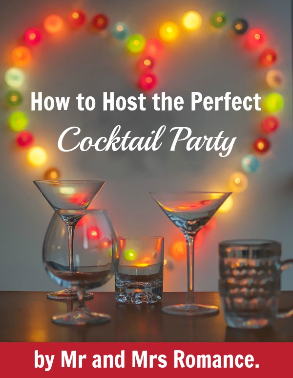 How to host the perfect cocktail party