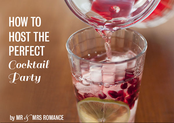 How to host the perfect cocktail party ebook