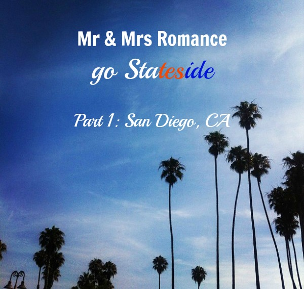 Mr and Mrs Romance - USA trip - SS #1 - Title image