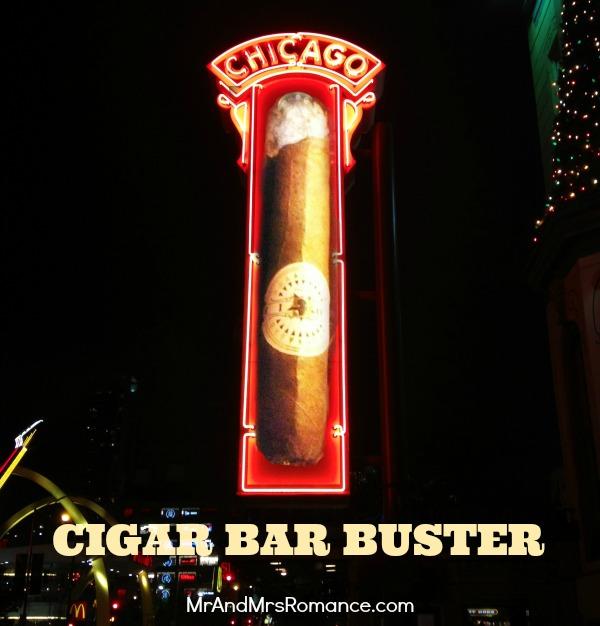 Mr & Mrs Romance - USA - 1 Chicago cigar buster title
