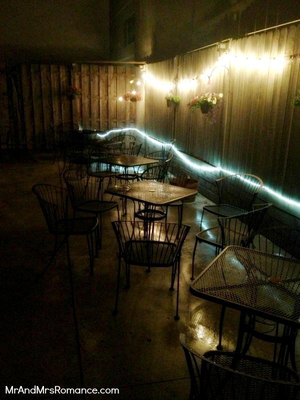 Mr & Mrs Romance - USA - 5 Clark St Ale house Smoking Area