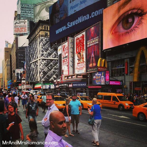Mr & Mrs Romance - USA - 5 Times Square