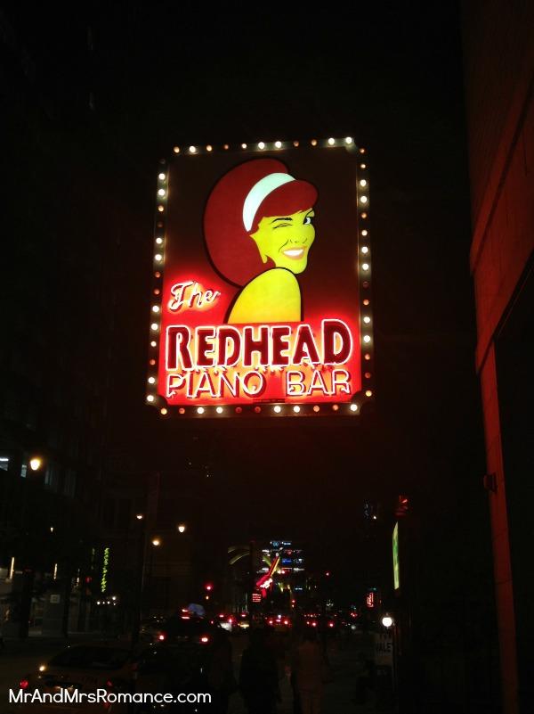 Mr & Mrs Romance - USA - 9 Redhead Piano Bar