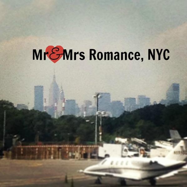 Mr & Mrs Romance - USA - NYC title