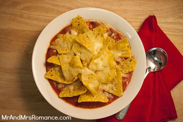 Mr & Mrs Romance - recipes - Nachos soup 2