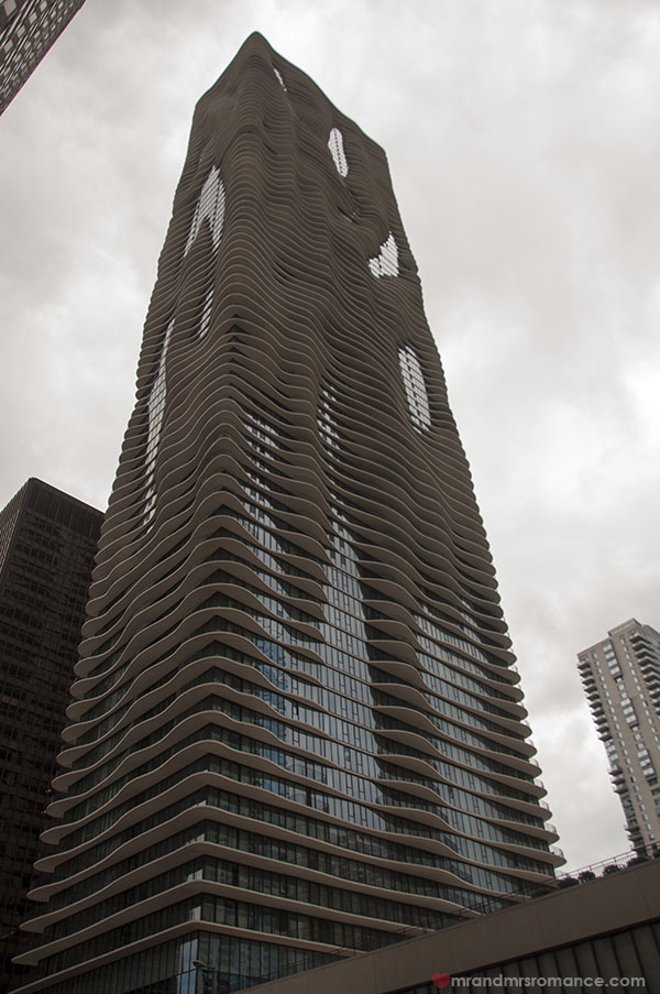 Chicago architectural river cruise - Aqua building