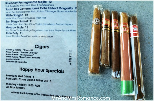 Mr & Mrs Romance - USA - Altitude Bar cigars