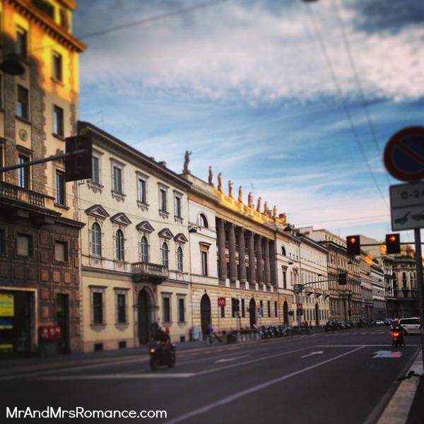 Mr and Mrs Romance - Europe 13 Milan - 4 Milan street