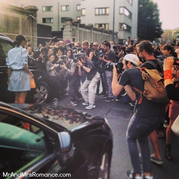 Mr and Mrs Romance - Europe 13 Milan - 5 crazy Milan Fashion Week