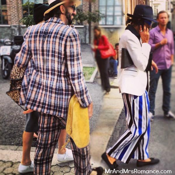 Mr and Mrs Romance - Europe 13 Milan - 5.3 Cool dude at Fashion Week