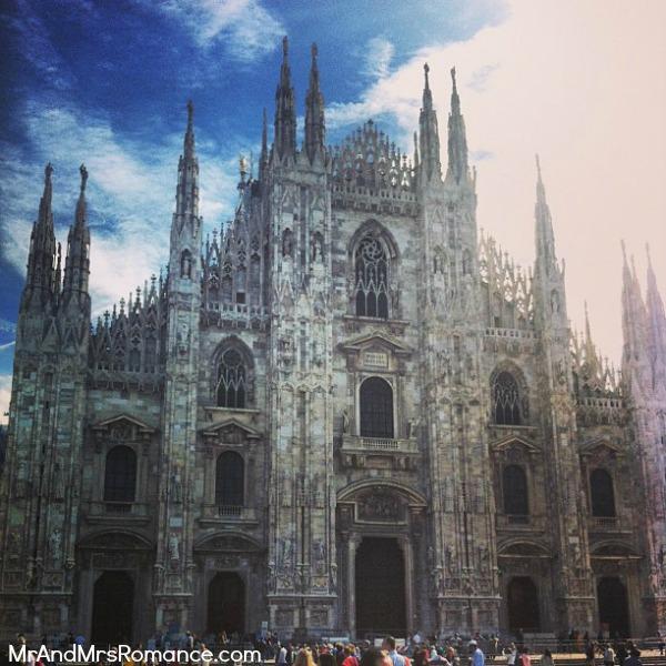 Mr and Mrs Romance - Europe 13 Milan - 5.5 HR Milan Duomo