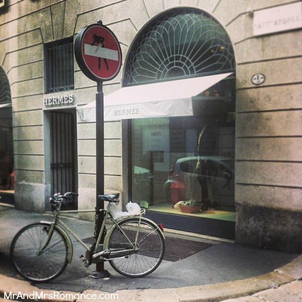 Mr and Mrs Romance - Europe 13 Milan - 5.6 HR Milan shopping scene