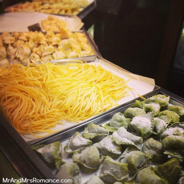 Mr and Mrs Romance - Europe 13 Milan - 6 fresh pasta