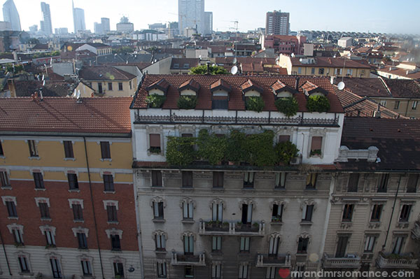 Best Western Hotel Galles Milan - Rooftop views Corso Buenos Aires